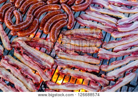 Sausages And Bacon