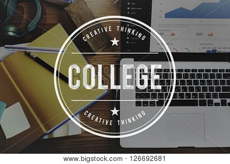 College Learning University Study Concept