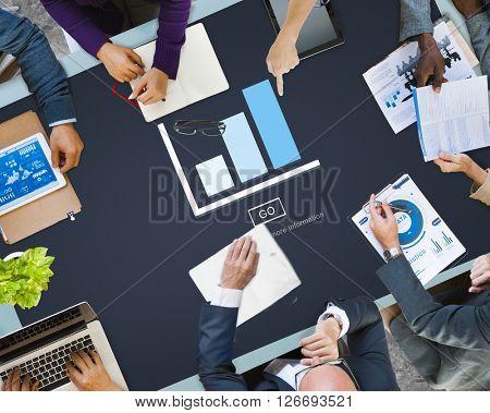 Graph Analysis Statistics Report Concept