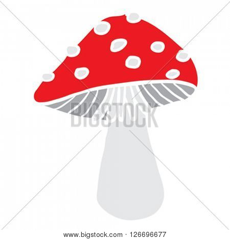 mushroom cartoon illustration