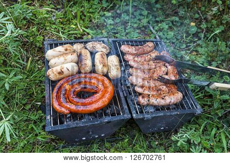 Mini picnic grill ideal for backpackers Quito Ecuador