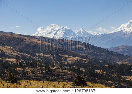 Cordillera Blanca, Andes, Huascaran Peru South America