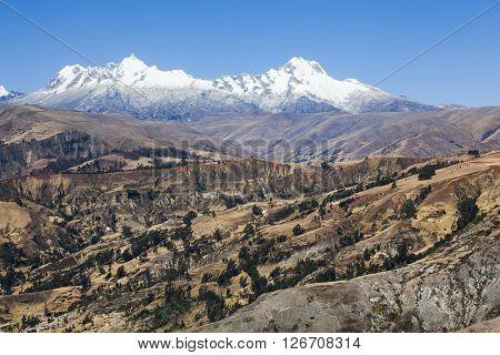 Cordillera Blanca mountains, Andes, Peru, South America