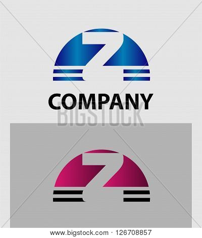 Abstract letter Z icon. Letter z logo icon design template elements