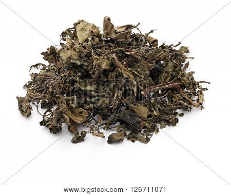 dried bitter leaf, vernonia amygdalina, nigerian food