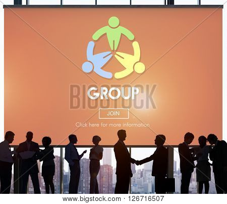 Group Teamwork Organization Society Concept
