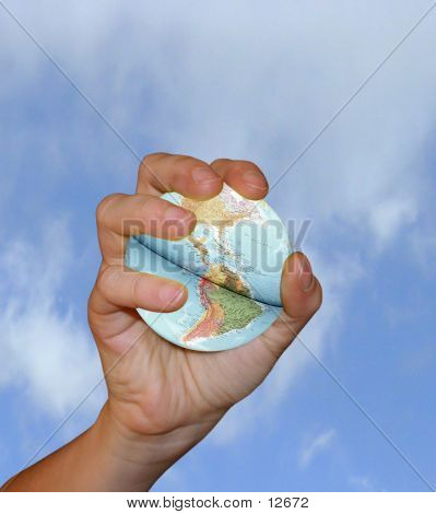 World In Your Hand poster