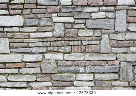 modern stone wall. perfect for background.