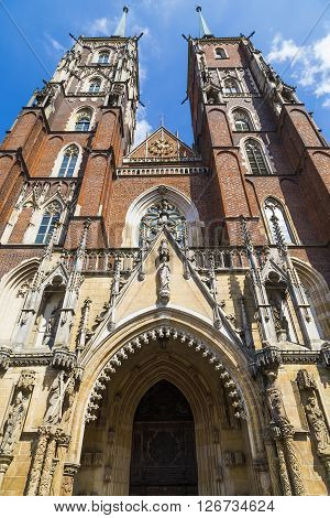Church of St. John the Baptist. Wroclaw. Poland