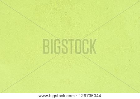 light green plaster wall for background or texture