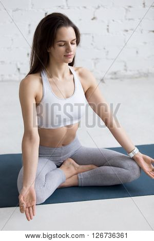 Yoga Indoors: Easy Pose
