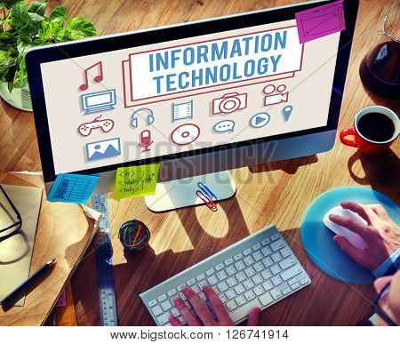 Information Technology Electronics Gadget Digital Concept