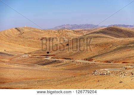 Anti Atlas Mountains, South Morocco, Africa