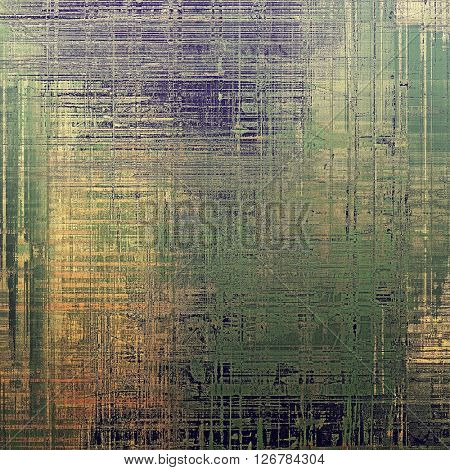 Grunge texture, detailed macro closeup, vintage composition. With different color patterns: yellow (beige); brown; green; gray; purple (violet)