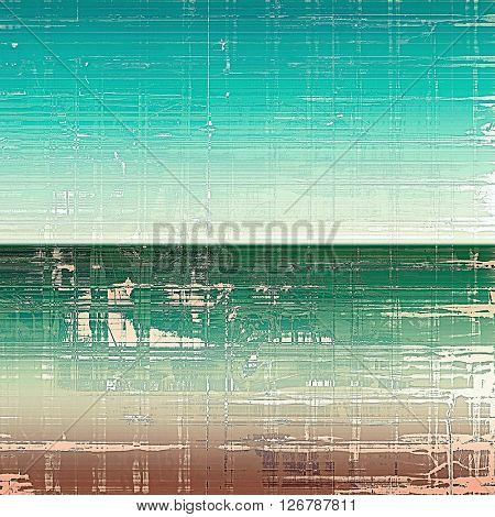 Abstract colorful background or backdrop with grunge texture and different color patterns: brown; green; blue; gray; cyan; white