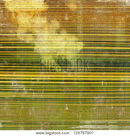 Abstract grunge weathered background of vintage texture. With different color patterns: yellow (beige); brown; green; gray
