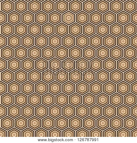 Geometrical Seamless Pattern Design. Easy to manipulate, re-size or colorize.