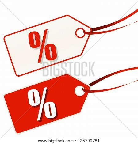 Hangtag White-red Sale