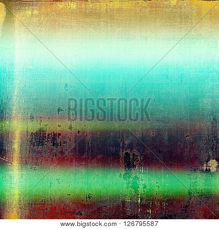 Creative elegant design used as retro background for your art project. With grunge texture and different color patterns: yellow (beige); green; blue; red (orange); purple (violet); cyan