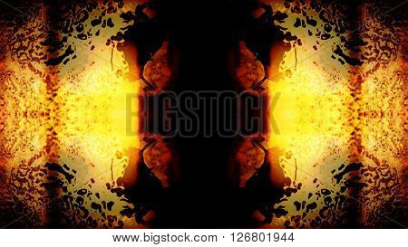 Futuristic video screen display pixels creating an abstract pattern. High resolution illustration 10601.