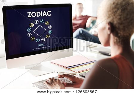 Zodiac Historic Prediction Astronomy Concept
