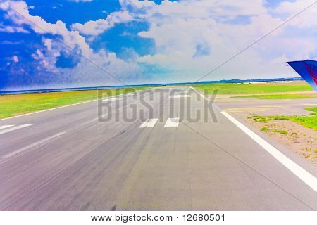 Lonesome road (Male Airport runway actually)