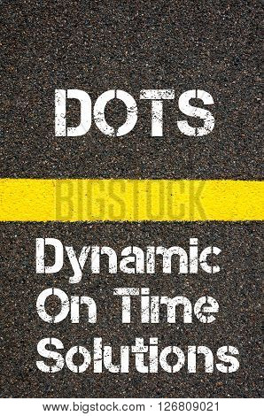 Business Acronym Dots Dynamic On Time Solutions