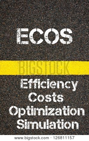 Business Acronym Ecos Efficiency Costs Optimization Simulation