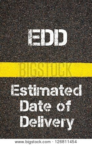 Business Acronym Edd Estimated Date Of Delivery