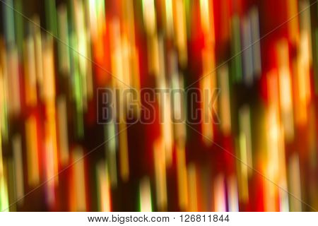 Bright Abstract Red And Green Background