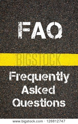 Business Acronym Faq Frequently Asked Questions