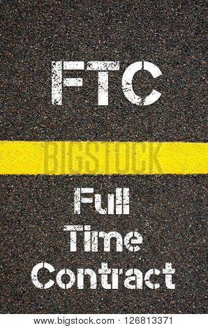 Business Acronym Ftc Full Time Contract