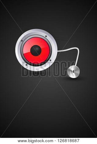 sound loud speaker vector illustration easy all editable