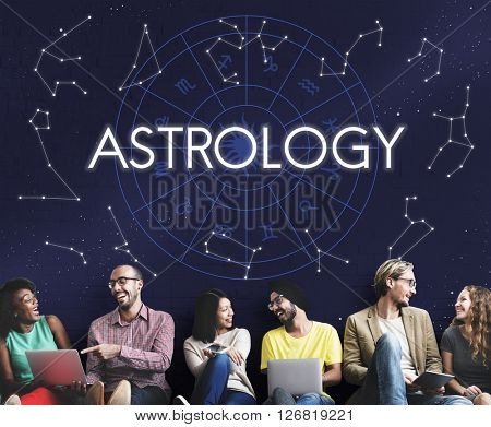 Astrology Star Horoscope Fortune Telling Fate Zodiac Concept