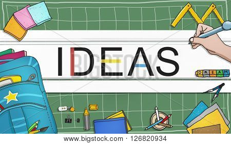 Ideas Idea Vision Design Plan Objective Mission Concept