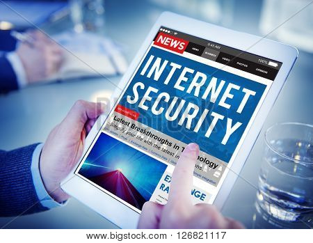 Internet Security Connection Technology Network Concept