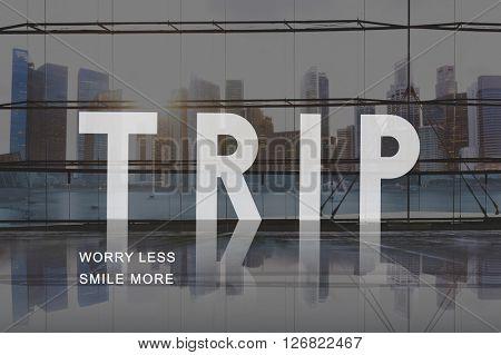 Trip Tour Journey Tourist Destination Adventure Concept