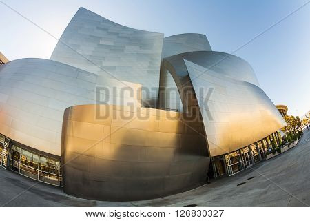 The Walt Disney Concert Hall In La.