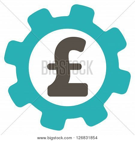 Development Pound Price vector icon. Development Pound Price icon symbol. Development Pound Price icon image. Development Pound Price icon picture. Development Pound Price pictogram.