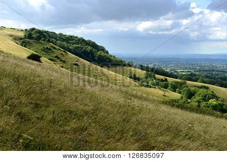 Ditchling Beacon, south downs national park, uk