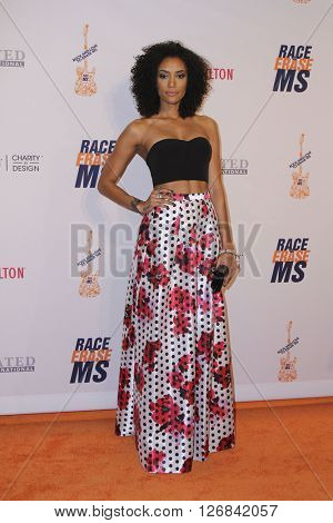 LAS VEGAS - APR 15:  Annie Ilonzeh at the  23rd Annual Race To Erase MS Gala at the Beverly Hilton Hotel on April 15, 2016 in Beverly Hills, CA