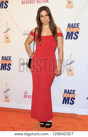 LAS VEGAS - APR 15:  Ally Hilfiger at the  23rd Annual Race To Erase MS Gala at the Beverly Hilton Hotel on April 15, 2016 in Beverly Hills, CA