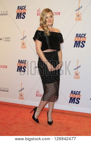 LAS VEGAS - APR 15:  AJ Michalka at the  23rd Annual Race To Erase MS Gala at the Beverly Hilton Hotel on April 15, 2016 in Beverly Hills, CA