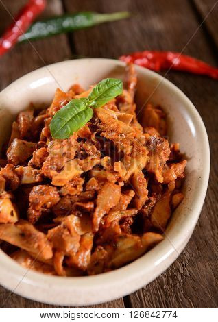 Chicken Gyros With Hot Pepper Spices
