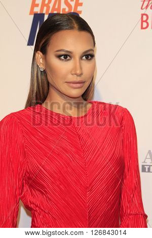 LAS VEGAS - APR 15:  Naya Rivera at the  23rd Annual Race To Erase MS Gala at the Beverly Hilton Hotel on April 15, 2016 in Beverly Hills, CA