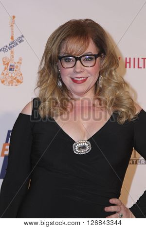LAS VEGAS - APR 15:  Kirsten Vangsness at the  23rd Annual Race To Erase MS Gala at the Beverly Hilton Hotel on April 15, 2016 in Beverly Hills, CA