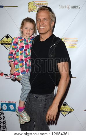 LAS VEGAS - APR 17:  Delilah Grace Fabian, Patrick Fabian at the Milk + Bookies Story Time Celebration at the California Market Center on April 17, 2016 in Los Angeles, CA