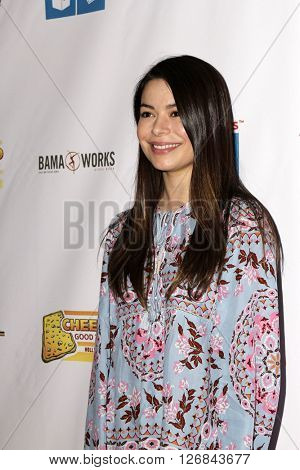 LAS VEGAS - APR 17:  Miranda Cosgrove at the Milk + Bookies Story Time Celebration at the California Market Center on April 17, 2016 in Los Angeles, CA