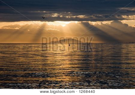 Sunrise Over Biwa