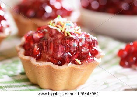 Cupcakes With Pomegranate